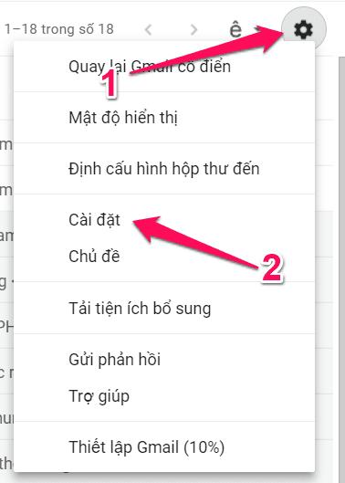 liên kết email tên miền riêng với gmail 02