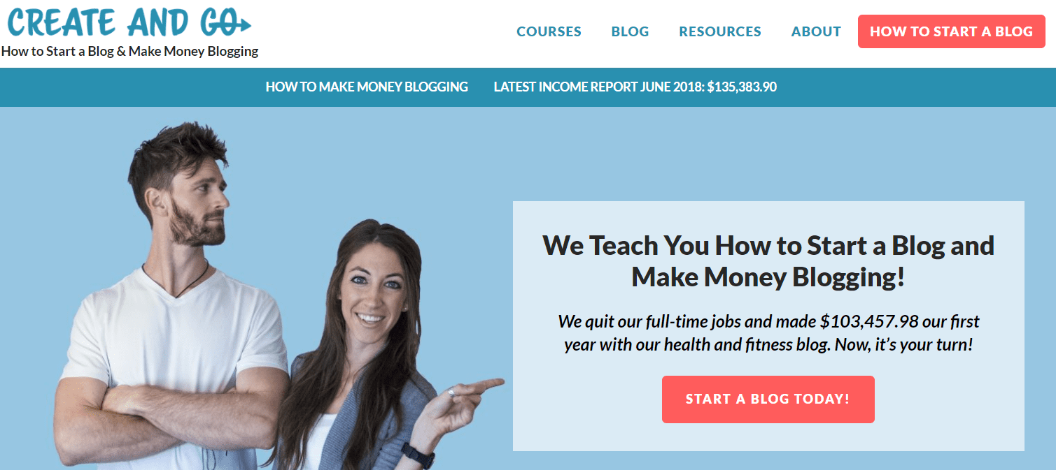 website kiếm tiền online CreateAndGo
