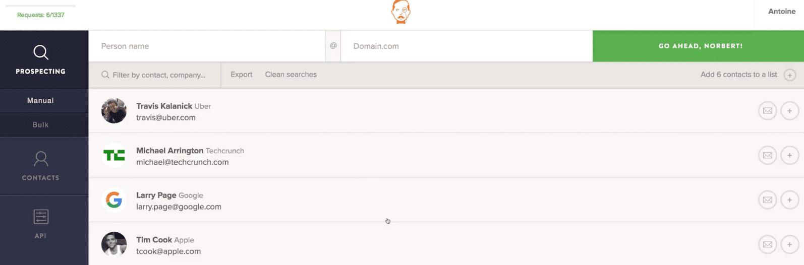 công cụ email marketing tìm địa chỉ email
