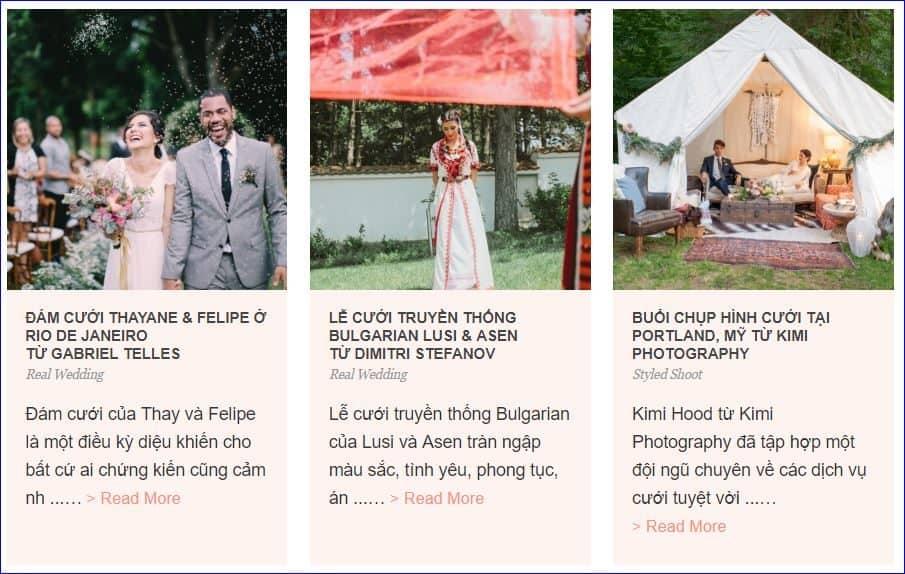 blog đám cưới