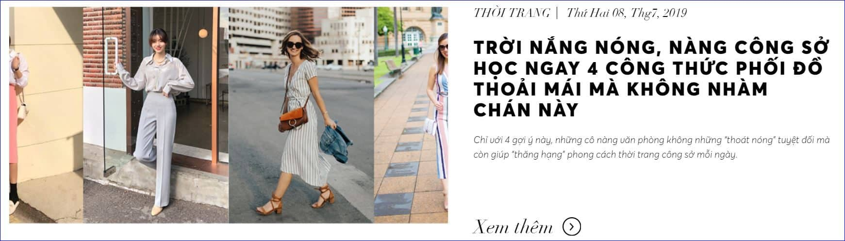 blog thời trang