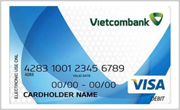 thẻ visa vietcombank