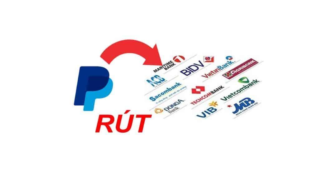 Cách rút tiền paypal về bank Việt Nam